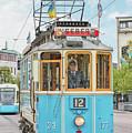 Gothenburg Liseberg Tram by Antony McAulay