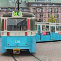 Gothenburg Public Tram by Antony McAulay