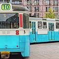 Gothenburg Public Tramcar by Antony McAulay