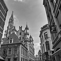 Gothic And Modern In Brussels by Georgia Fowler