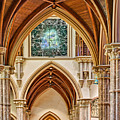 Gothic Arches - Holy Name Cathedral - Chicago by Nikolyn McDonald