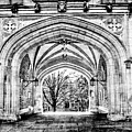 Gothic Architecture At Princeton University  Princeton New Jersey by Geraldine Scull