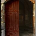 Gothic Church Door by Peter Jenkins