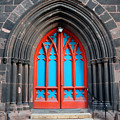 Gothic Church Door by Walter Oliver Neal