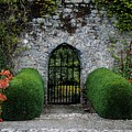 Gothic Entrance Gate, Walled Garden by The Irish Image Collection
