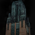 Gothic Night. Architecture Of Los Angeles by Sofia Metal Queen