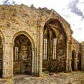 Gothic Temple Ruins - San Domingos by Weston Westmoreland