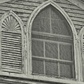 Nantucket Gothic Window  by JAMART Photography