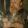 Gottfried Keller by Bocklin Arnold