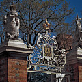 Governor's Palace Gate Detail by Frank Maxwell
