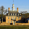 Governor's Palace Williamsburg by Sally Weigand
