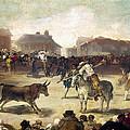 Goya: Bullfight, 1793 by Granger