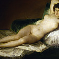 Goya: Nude Maja, C1797 by Granger