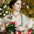 Grace Rose by Anthony Frederick Augustus Sandys
