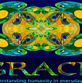 Graceful Humanity Spiritual Artwork By Omashte by Omaste Witkowski