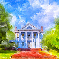 Gracious Living - Classic Southern Home by Mark E Tisdale