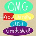 Graduation Card by Linda Woods