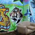 Graffiti Art Albuquerque New Mexico 7 by Bob Christopher