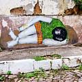 Graffiti Art Lencois Brazil by Bob Christopher