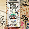 Graffiti Doorway New Orleans by Kathleen K Parker