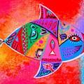 Graffiti Fish by Jean Clarke