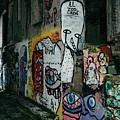 Graffiti In Plaka II by James Billings