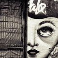 Graffiti Monochrome - Journey To The Centre Of The Eye by Daliana Pacuraru
