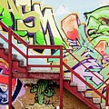 Graffiti Steps by Kimberly Farmer