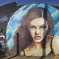 Graffiti Street Art Mural Around Melrose Avenue In Los Angeles, California  by Konstantin Sutyagin