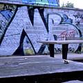Graffiti Table by Nacho Vega