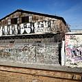 Graffiti Wall by Kelley King
