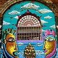 Graffiti Window by Caroline Reyes-Loughrey