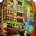 Graffitti On New York City Building by Nishanth Gopinathan