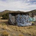 Grafitti In The Middle Of Nature by Stephen St. John
