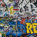 Grafitti On The U2 Wall, Windmill Lane by Panoramic Images