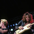 Graham Bonnet And Yngwie Malmsteen Of Alcatrazz by Rich Fuscia