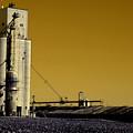 Grain Storage Infrared No2 by Alan Look