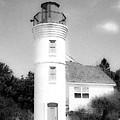 Grainy Lighthouse by Keith Kadwell
