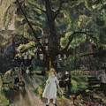 Gramercy Park by George Bellows