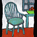 Grampa's Empty Chair by Wayne Potrafka