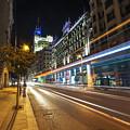 Gran Via Light Trails 1.0 by Yhun Suarez