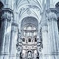 Granada Cathedral Interior by Joan Carroll