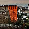 Granada - Spain - View Of The The Albaiyzin District From The Al by Carlos Alkmin