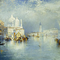 Grand Canal Venice by Thomas Moran