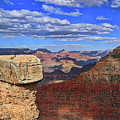 Grand Canyon # 29 - Mather Point Overlook by Allen Beatty