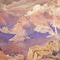 Grand Canyon, 1927  by Gunnar Widforss