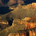 Grand Canyon Arizona Light And Shadow 1 by Bob Christopher