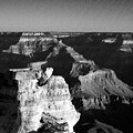 Grand Canyon Black And White by Joshua House