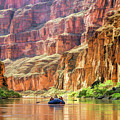 Grand Canyon Colorado River Rafting by Christopher Arndt