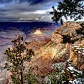 Grand Canyon In Winter by Jim DeLillo